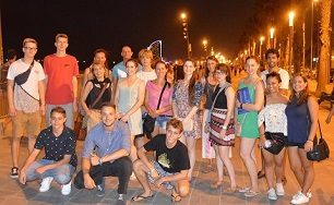 Guided evening walk in Barcelona - every Sunday with Spanish Teacher